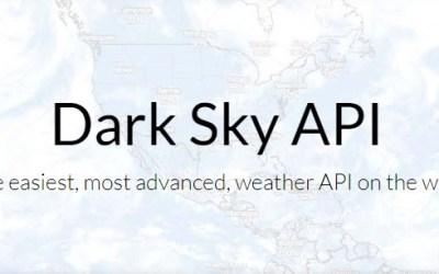Dark Sky Weather API Will Retire