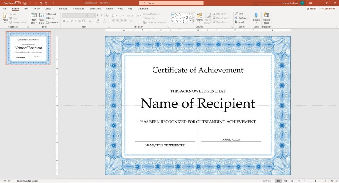 automating powerpoint using excel