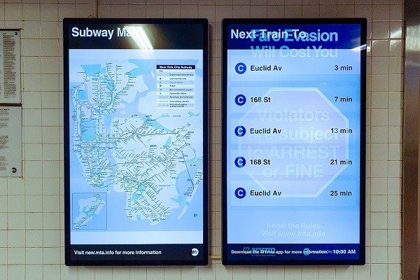 How to Build Digital Signage Information Screens