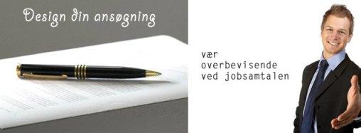 Design din ansøgn og få hjælp til jobsamtalen