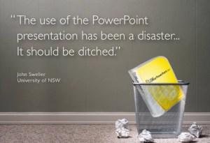 Warum PowerPoint ein Desaster ist