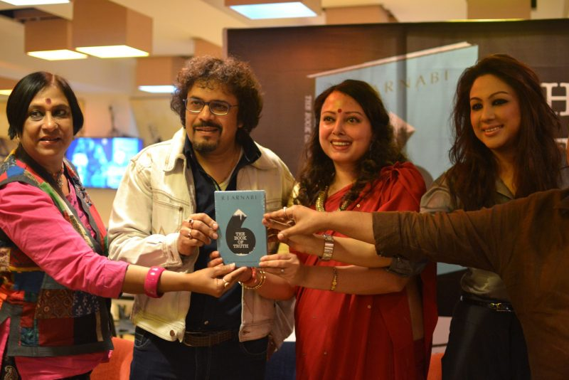 RJ Arnabi the book of truth launch