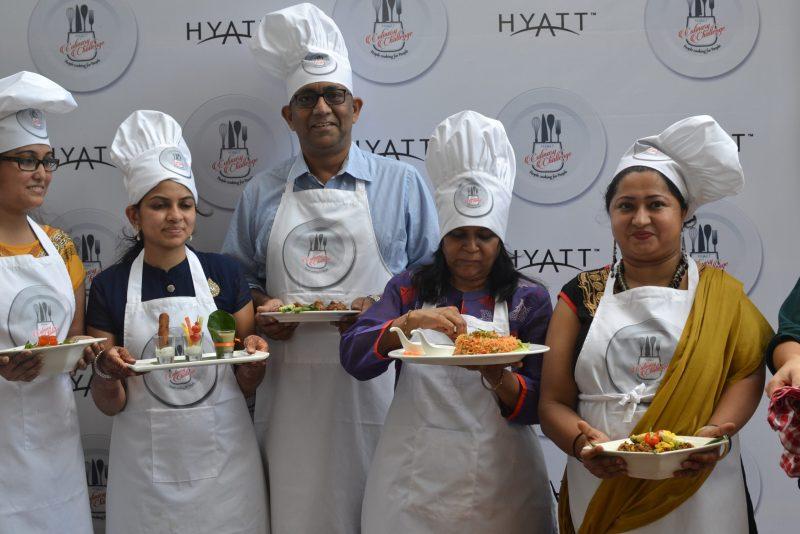 hyatt culinary challenge participants