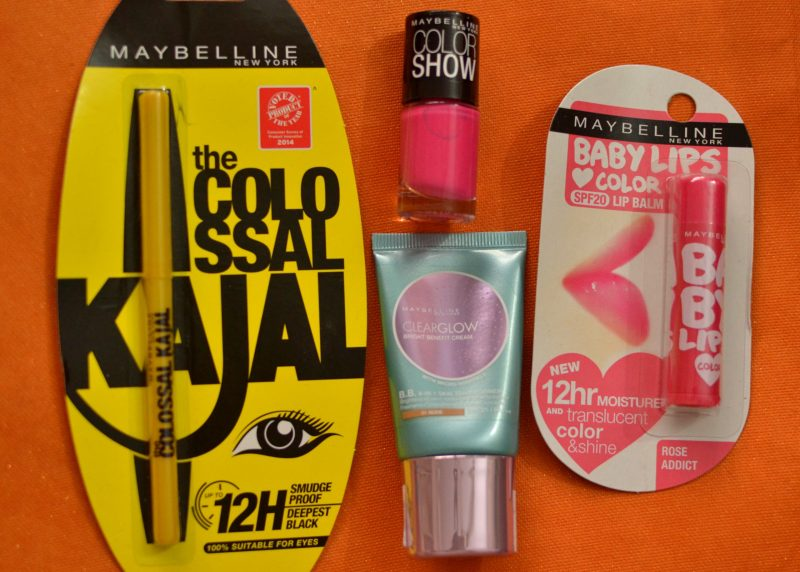maybelline essentials kit pink