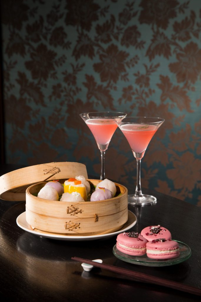 dim sums for yauatcha anniversary