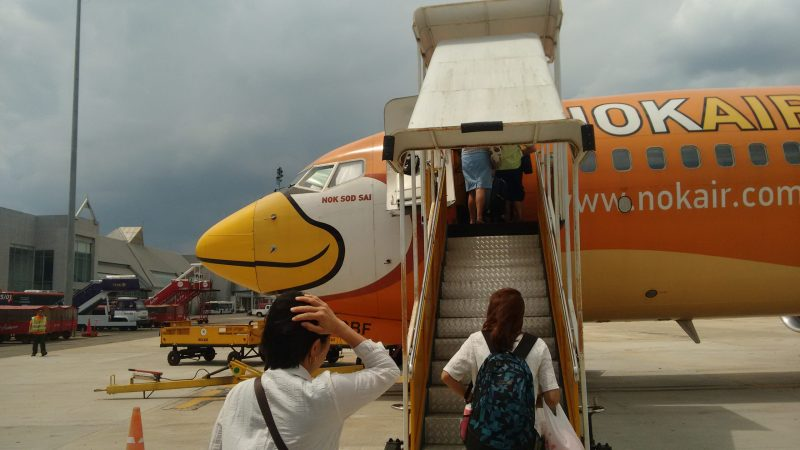 Nok Air Flight to Krabi
