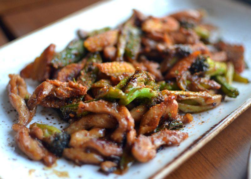 Tori Teriyaki: Grilled Chicken With Leeks and Teriyaki Sauce