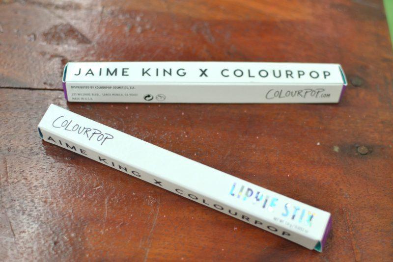colourpop JujuRouge and Polite Society Lippie Stix
