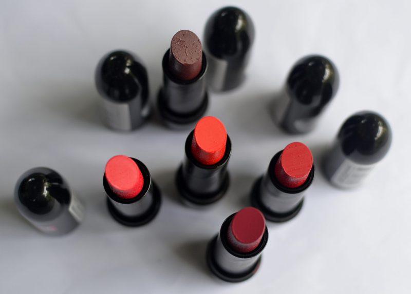 Elle 18 matte lipsticks