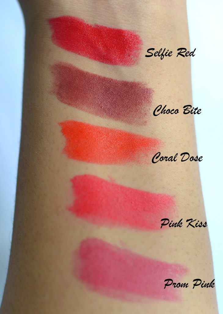 Swatches Of Colourpop Martian Helium And Utopia Tie Dye: Elle 18 Colour Pop Matte Lipsticks Swatches And Review
