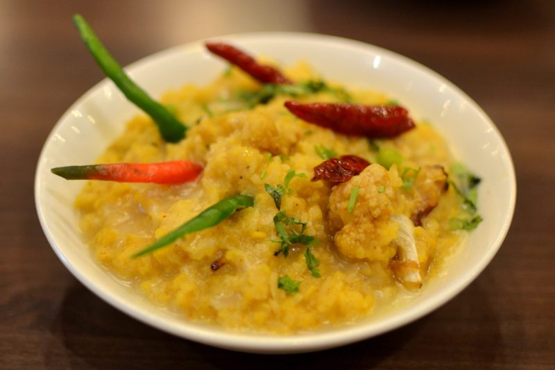 pariba khechuri - Khichuri with vegetables