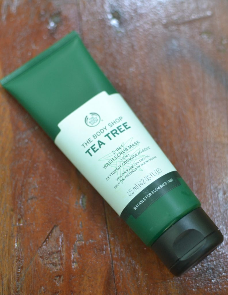 the body shop 3 in 1 mask