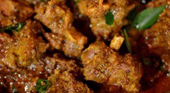 mutton ghee roast
