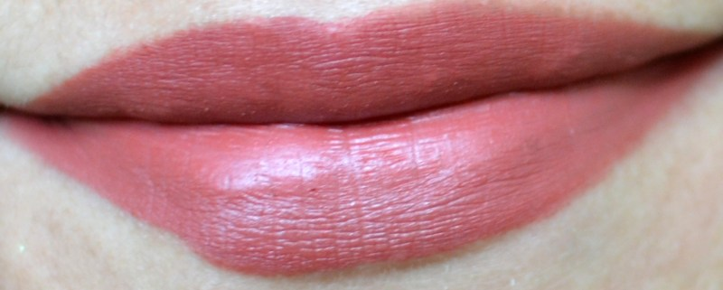 L'Oreal Paris Rouge Magique Lipstick on Indian skin tone