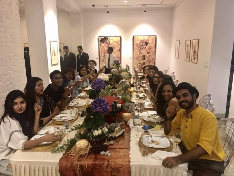 Desi Lantern Blogger's Table