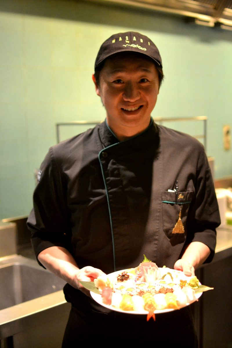 Chef  Yousuke Matasudka (or Joe, as he was also called)
