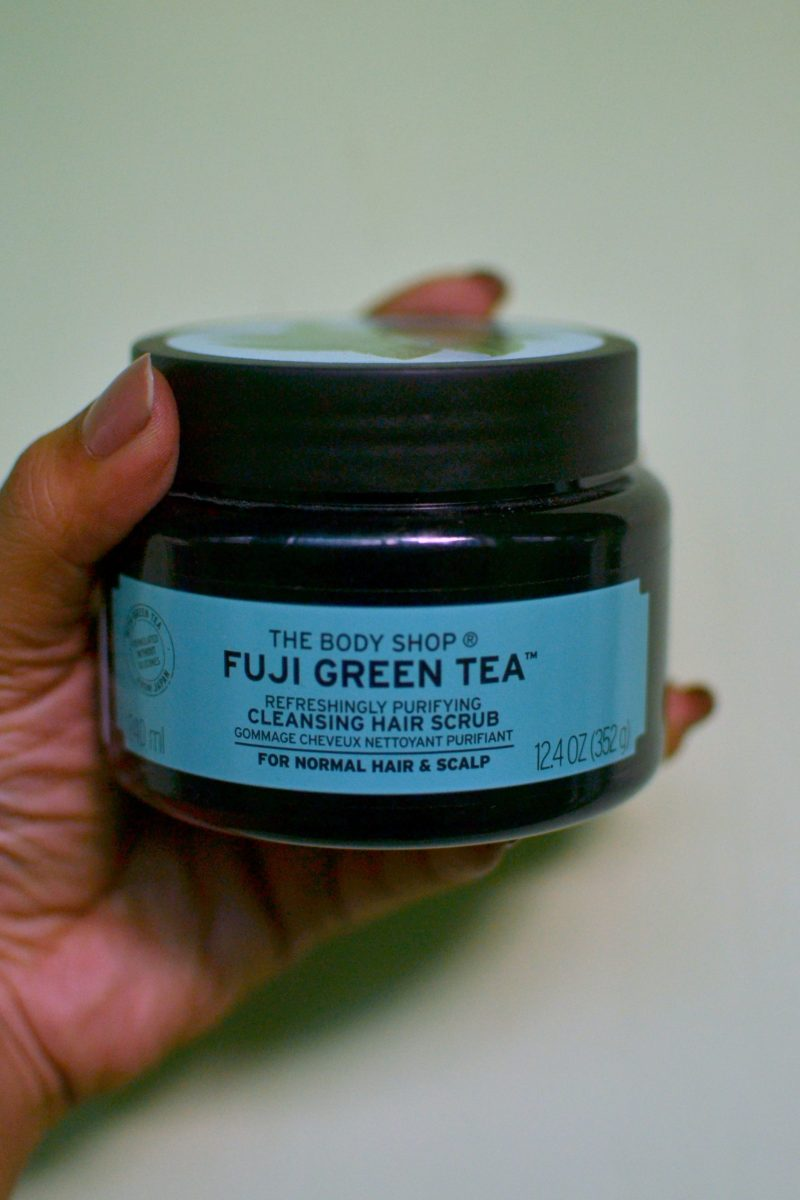 The Body Shop Fuji Green Tea™ Refreshingly Purifying Cleansing Hair Scrub Review