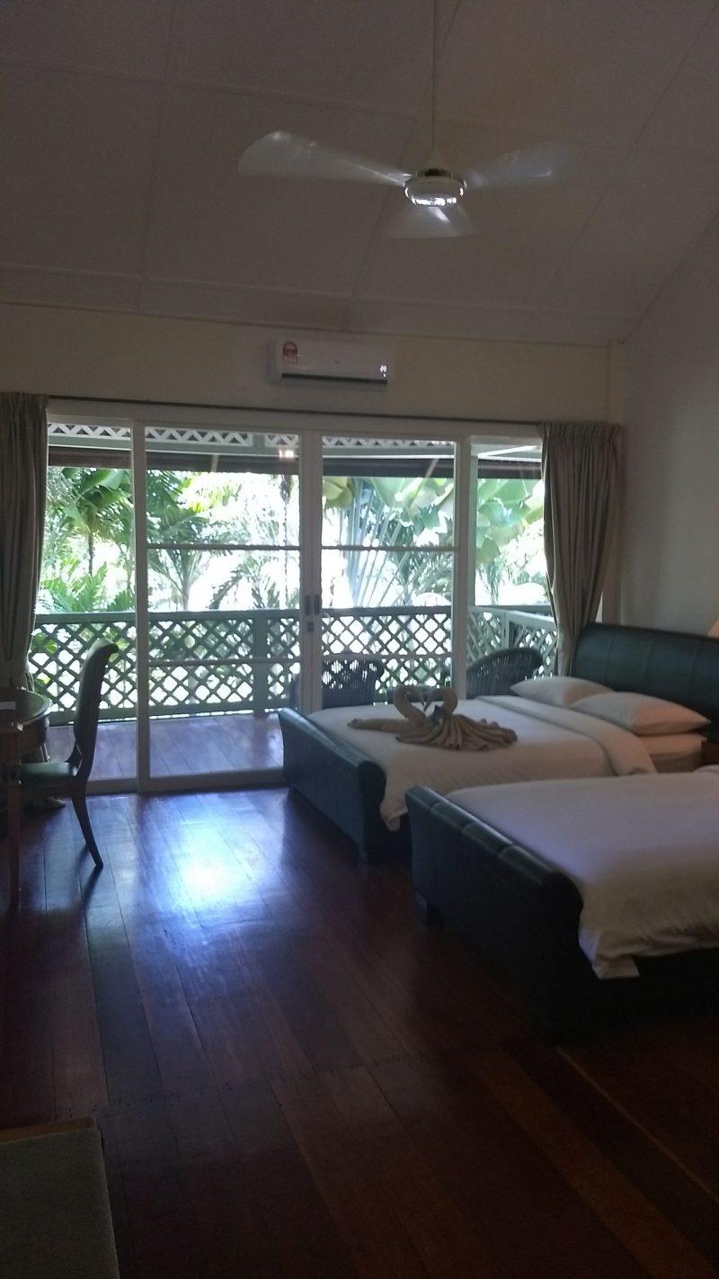 Rawa Island Resort rooms