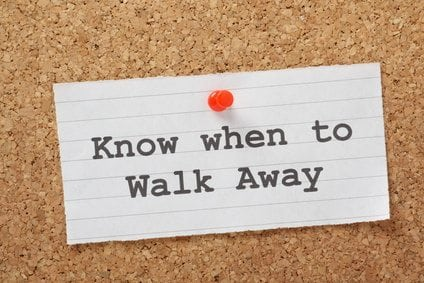When You Know It's Time to Walk Away From a Difficult Situation