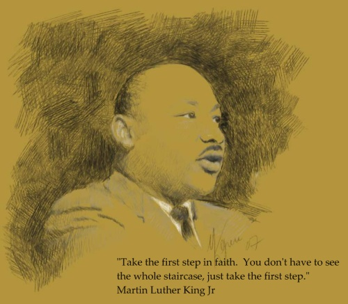 Inspirational quote from Martin Luther King Jr