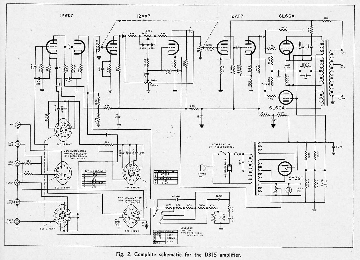 Hi Fi Amplifier Schematics C