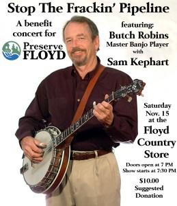 butch robins concert