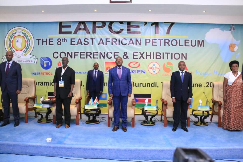 Son Excellence Pierre Nkurunziza, ravi d'ouvrir la 8eme Conférence de la Communauté Est Africaine sur le Pétrole après celle sur la santé, d'il y a seulement trois mois.