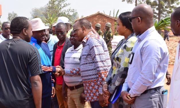 Son Excellence le Président Pierre Nkurunziza reçoit en audience le Représentant Spécial des Nations unies en Afrique Centrale à Gitega