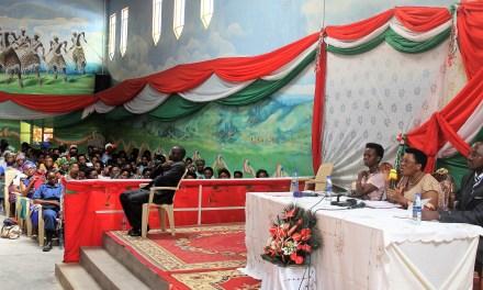 La Première Dame Madame Denise Nkurunziza exhorte les femmes et jeunes de Bubanza à bannir tout mauvais comportement et contribuer au développement du pays