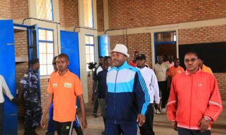 Le Chef de l'Etat inaugure des infrastructures à Ngozi