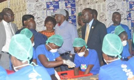 Le Premier Vice-Président encourage les activités de développement