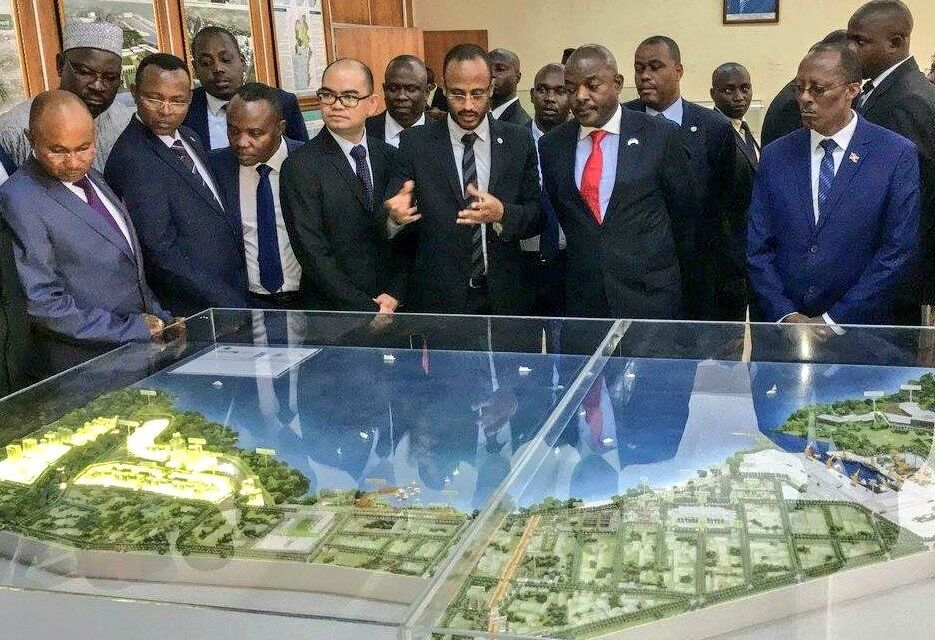 Son Excellence Pierre NKURUNZIZA lance le Plan directeur de la ville de Bujumbura