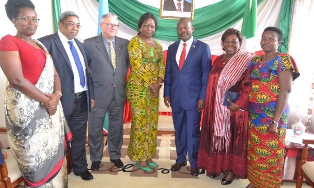 Son Excellence Pierre Nkurunziza reçoit en audience des parlementaires de la Francophonie