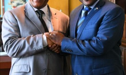 Le Secrétaire Général du COMESA, reçu par Son Excellence le Président Burundais