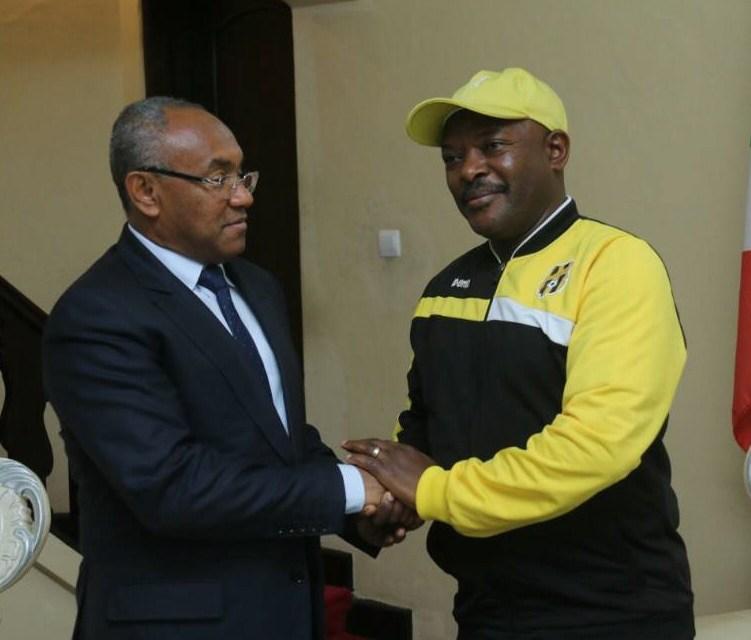 Son Excellence Pierre Nkurunziza reçoit le Président de la CECAFA