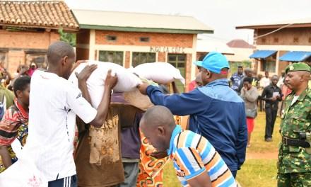 Le Chef de l'Etat aux secours des vulnérables des pluies diluviennes