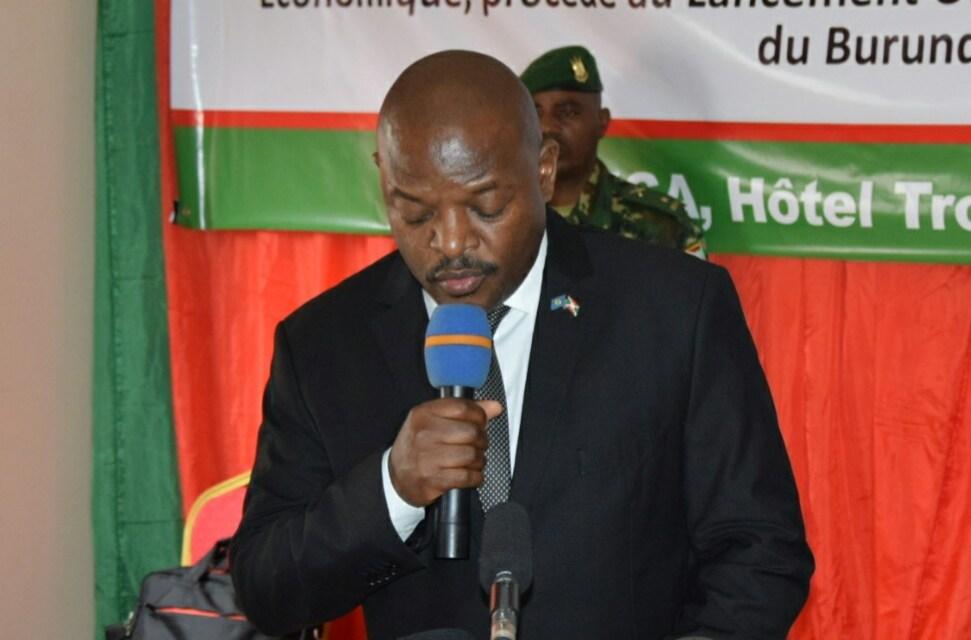 Discours de Son Excellence Pierre Nkurunziza lors du lancement du Plan National de Développement du Burundi
