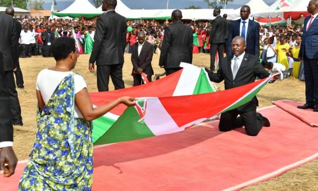 Une prière pour le Burundi couronne la prière d'action de grâce de la famille présidentielle