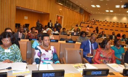 La Première Dame du Burundi présente sa vision de l'OPDAD à New-York