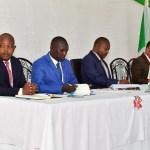 Le Chef de l'Etat préside une réunion d'évaluation de la sécurité