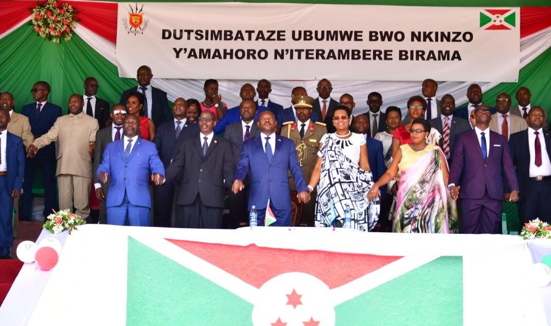 Le Chef de l'Etat rehausse les cérémonies de la fête de l'unité nationale à Gitega