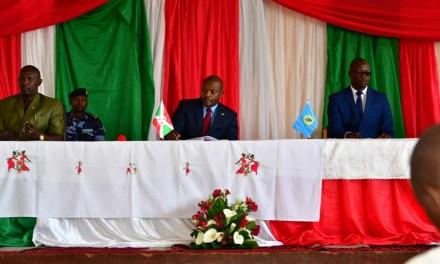 Réunion du Chef de l'Etat avec les Gouverneurs et administrateurs communaux