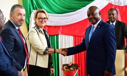 Le Chef de l'Etat reçoit le Directeur de la Banque Mondiale au Burundi