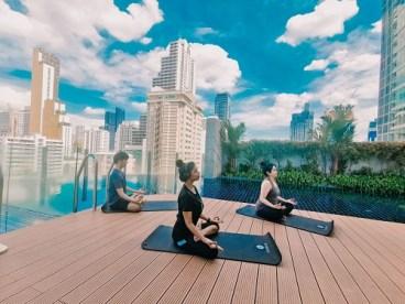 L 06 Virtual yoga session via Zoom at Aloft Bangkok