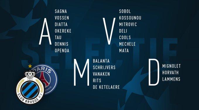 Ligue des champions : Le Fc Bruges écarte Mbaye Diagne du groupe contre le PSG