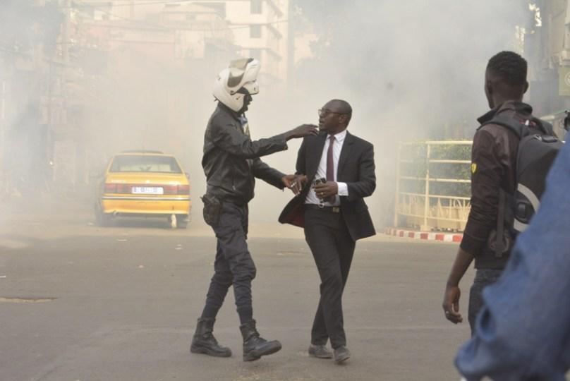 Retour en images sur un après-midi électrique au centre-ville de Dakar