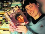 Eilidh Montgomery of Breakish, Broadford who is a keen Star Trek fan.