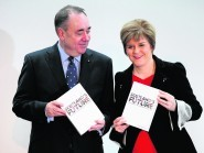 """The SNP have been accused of """"deceit"""" over the white paper, promoted by former first minister Alex Salmond and successor Nicola Sturgeon, which predicted oil revenues of around £7 billion"""