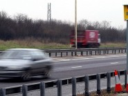Speed cameras on the A9