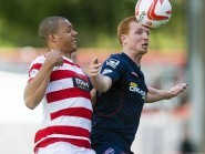 Scott Boyd made his 288th appearance for Ross County on Tuesday.